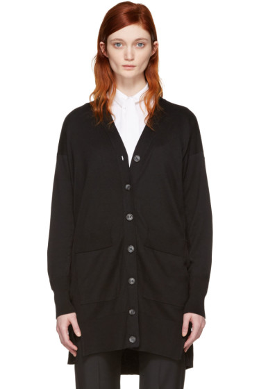 MM6 Maison Margiela - Black Long Cardigan
