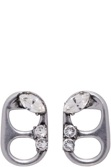 Marc Jacobs - Silver Soda Lid Earrings