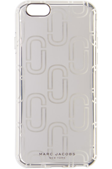 Marc Jacobs - Silver Logo iPhone 6S Case