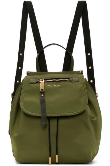 Marc Jacobs - Green Trooper Backpack