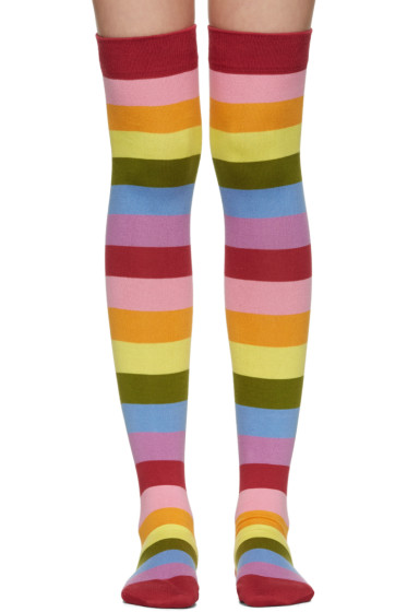 Marc Jacobs - Multicolor Striped Socks
