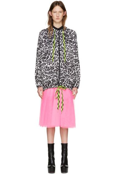Marc Jacobs - Black & White Packable Jacket