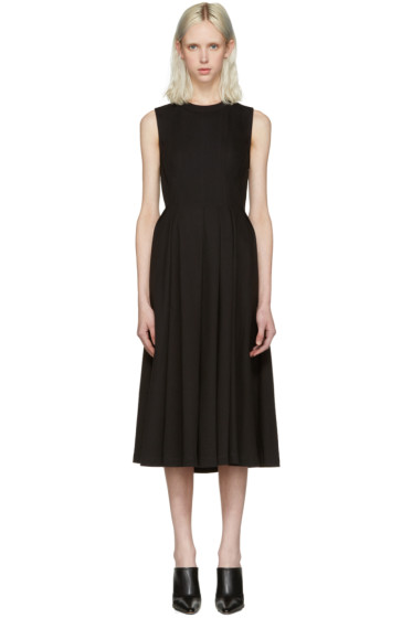 T by Alexander Wang - Black Peplum Dress