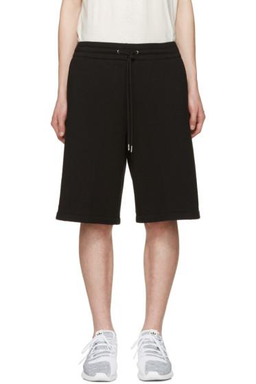 T by Alexander Wang - Black Lounge Shorts