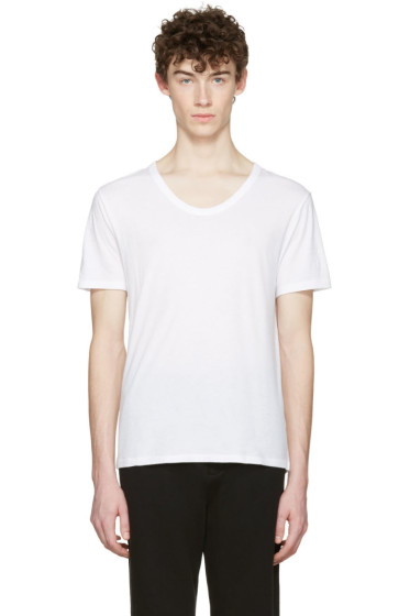 T by Alexander Wang - White Classic T-Shirt