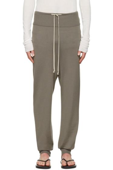 Rick Owens - Grey Drawstring Lounge Pants