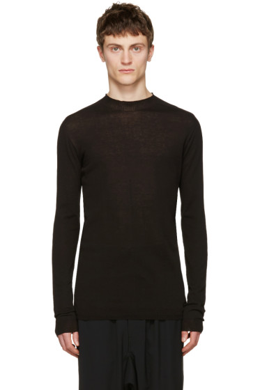 Rick Owens - Black Level Lupetto Pullover