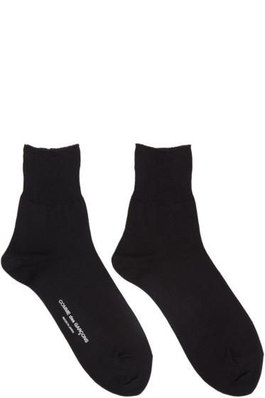 Comme des Garçons - Black Short Socks