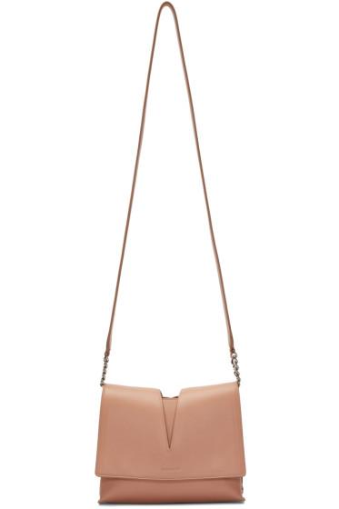 Jil Sander - Beige Small View Shoulder Bag