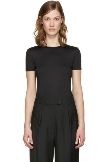 Jil Sander - Black Cotton T-Shirt