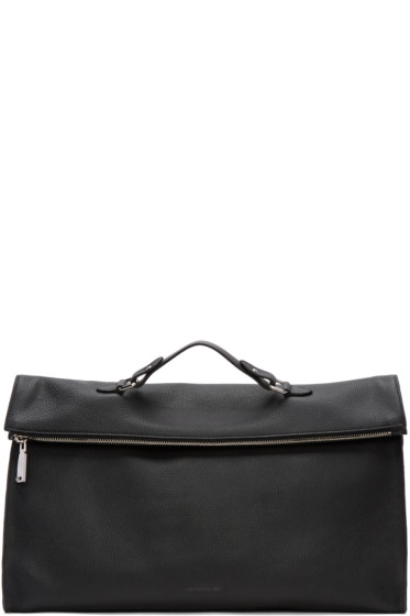 Jil Sander - Black Journey Pouch Tote