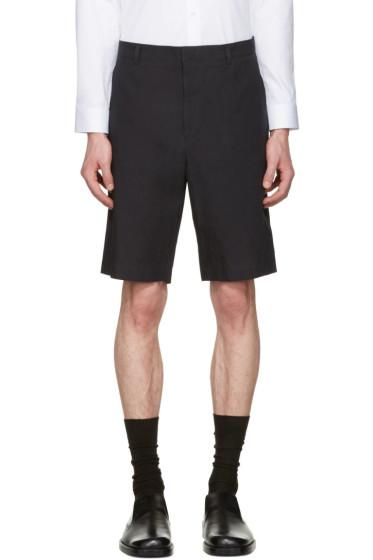 Jil Sander - Blue Cotton Shorts