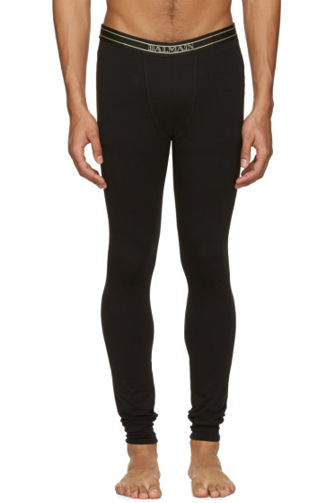 Balmain - Black Logo Leggings