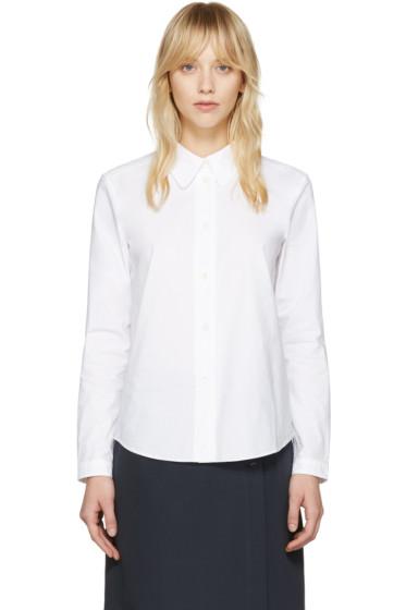 A.P.C. - White Mademoiselle Shirt