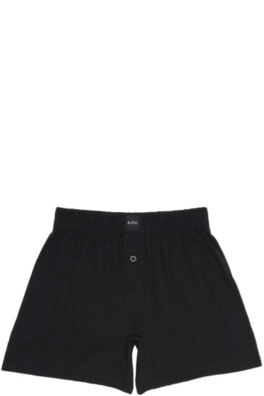 A.P.C. - Black Cabourg Boxers