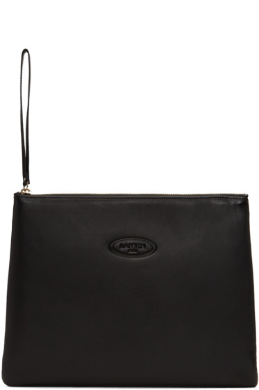 Lanvin - Black Large Pouch