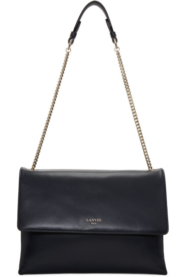 Lanvin - Navy Medium Sugar Bag