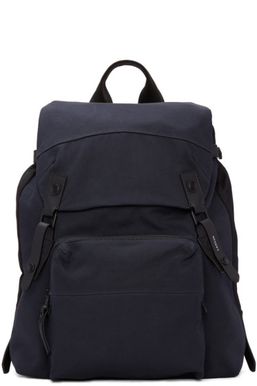 Lanvin - Navy Canvas Backpack
