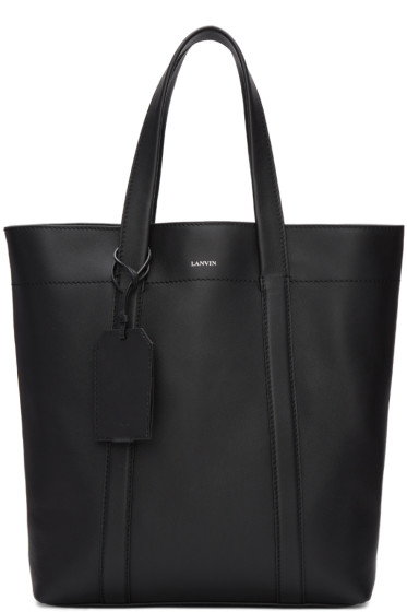 Lanvin - Black Leather Tote