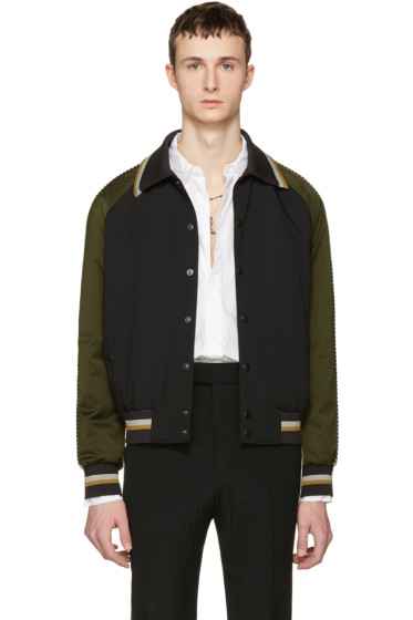 Lanvin - Tricolor Bomber Jacket