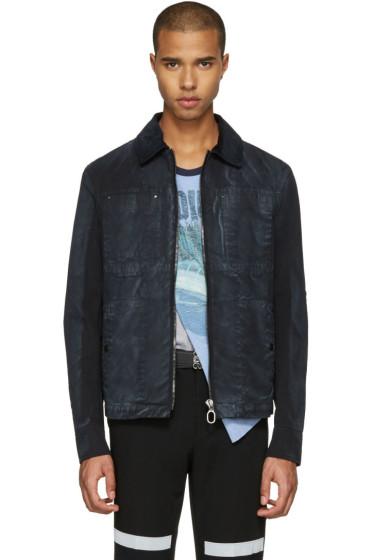 Lanvin - Black Waxed Cotton Jacket
