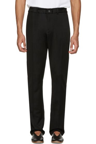Lanvin - Black Retro Lounge Pants