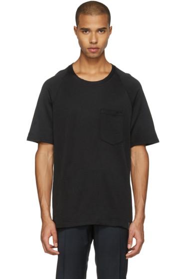 Lanvin - Black Worn T-Shirt