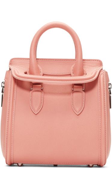 Alexander McQueen - Pink Mini Heroine Bag