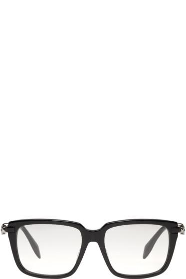 Alexander McQueen - Black Skull Glasses
