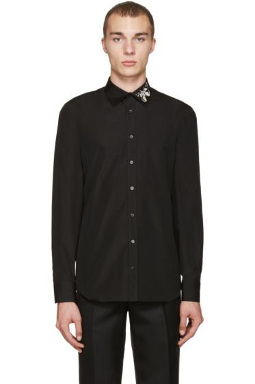 Alexander McQueen - Black Butterfly Shirt