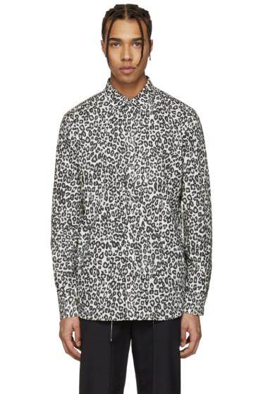 Alexander McQueen - Ivory Leopard Shirt