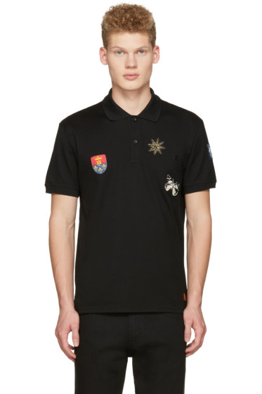 Alexander McQueen - Black Badges Polo