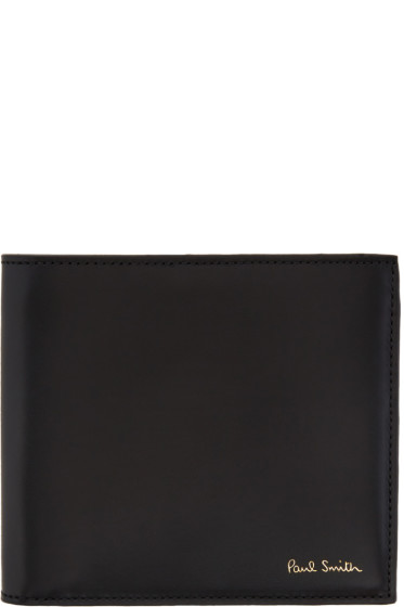Paul Smith - Black Striped Wallet