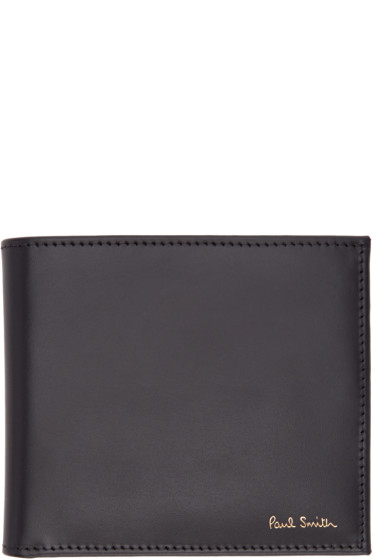 Paul Smith - Black Multi Stripes Wallet