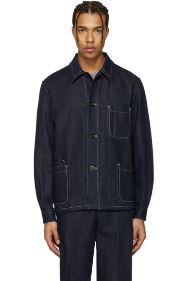 Paul Smith - Navy Denim Worker Jacket