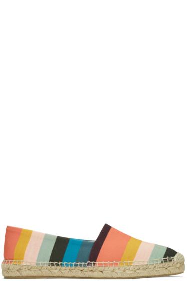 Paul Smith - マルチカラー ストライプ サニー エスパドリーユ