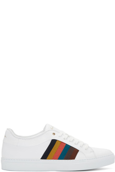 Paul Smith - White Ivo Sneakers