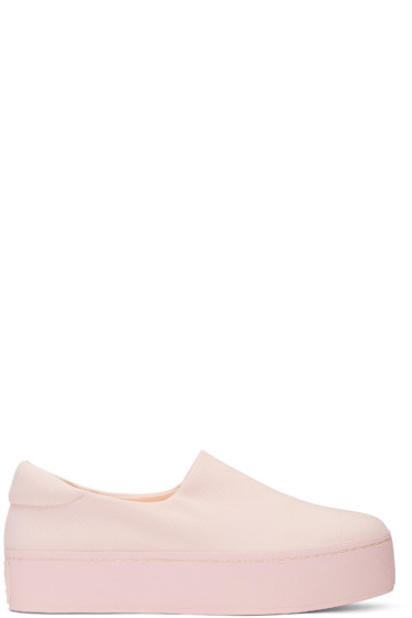 Opening Ceremony - Pink Cici Slip-On Sneakers