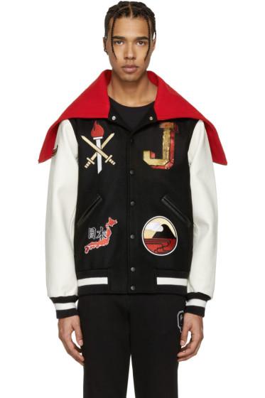 Opening Ceremony - Black Japan Global Varsity Jacket