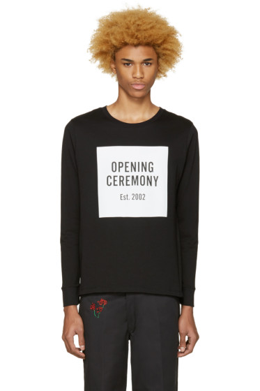 Opening Ceremony - Black Box Logo T-Shirt