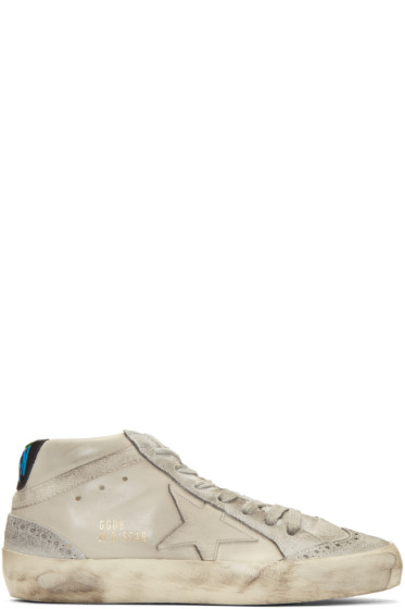 Golden Goose - Taupe Mid Star Sneakers