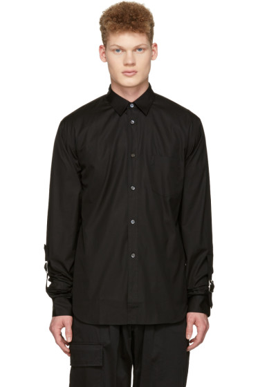Comme des Garçons Shirt - Black Adjustable Sleeves Shirt
