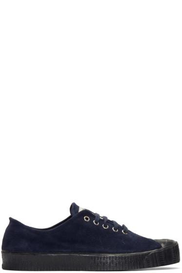 Comme des Garçons Shirt - Navy Spalwart Edition Special V Sneakers