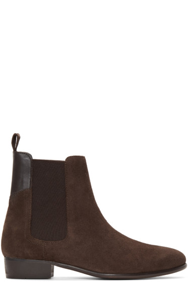 H by Hudson - Brown Watts Chelsea Boots