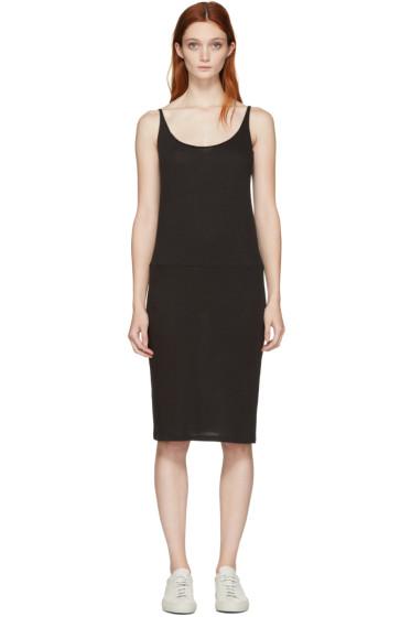 Raquel Allegra - Black Jersey Tank Dress