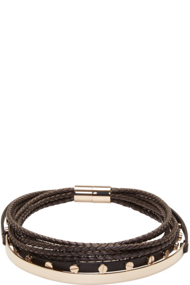Givenchy - Black Multi-Row Choker