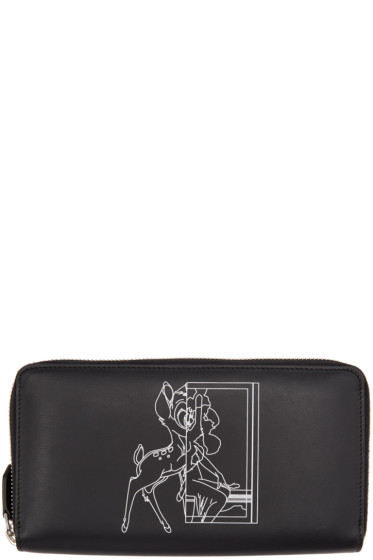 Givenchy - Black Bambi Continental Wallet