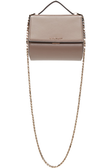 Givenchy - Beige Mini Chain Pandora Box Bag