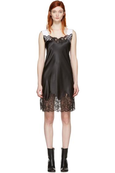 Givenchy - Black Satin Slip Dress