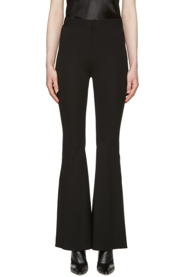 Givenchy - Black Flared Trousers